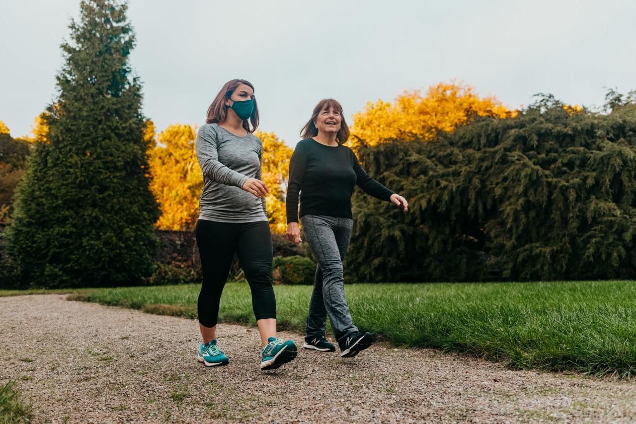Aerobic walk with Dr. Cicala